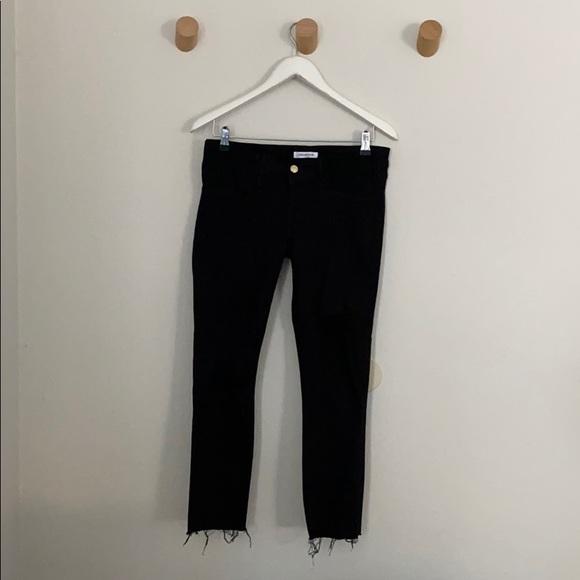Good American Denim - Good American maternity jeans black